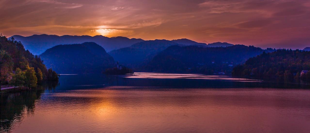 斯洛文尼亚布莱德湖(Lake Bled),美丽湖景_图1-14