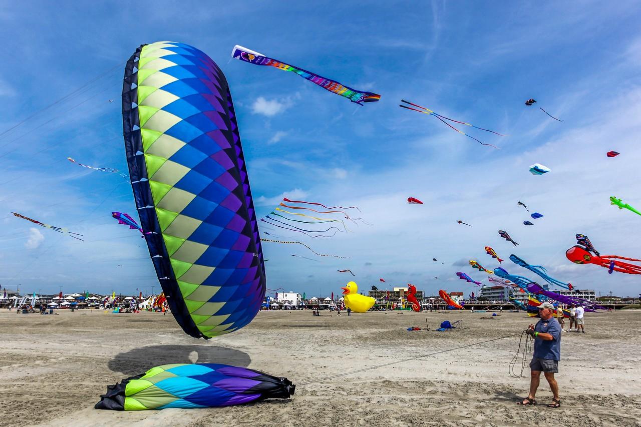 新泽西州Wildwood Beach,围观国际风筝节_图1-10