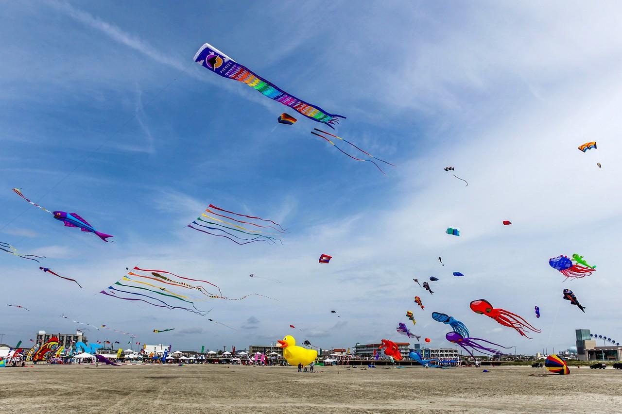 新泽西州Wildwood Beach,围观国际风筝节_图1-12