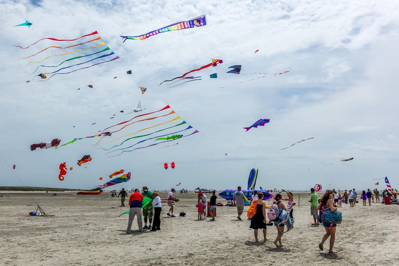新泽西州Wildwood Beach,围观国际风筝节_图1-9