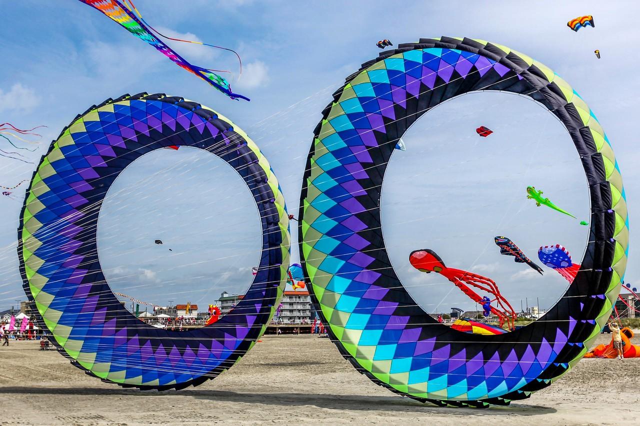 新泽西州Wildwood Beach,围观国际风筝节_图1-8