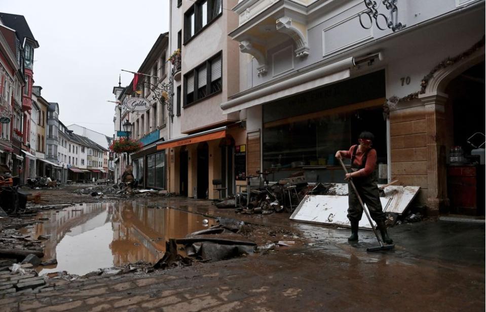 德国及西欧惊现百年未遇之特大洪水_图1-23