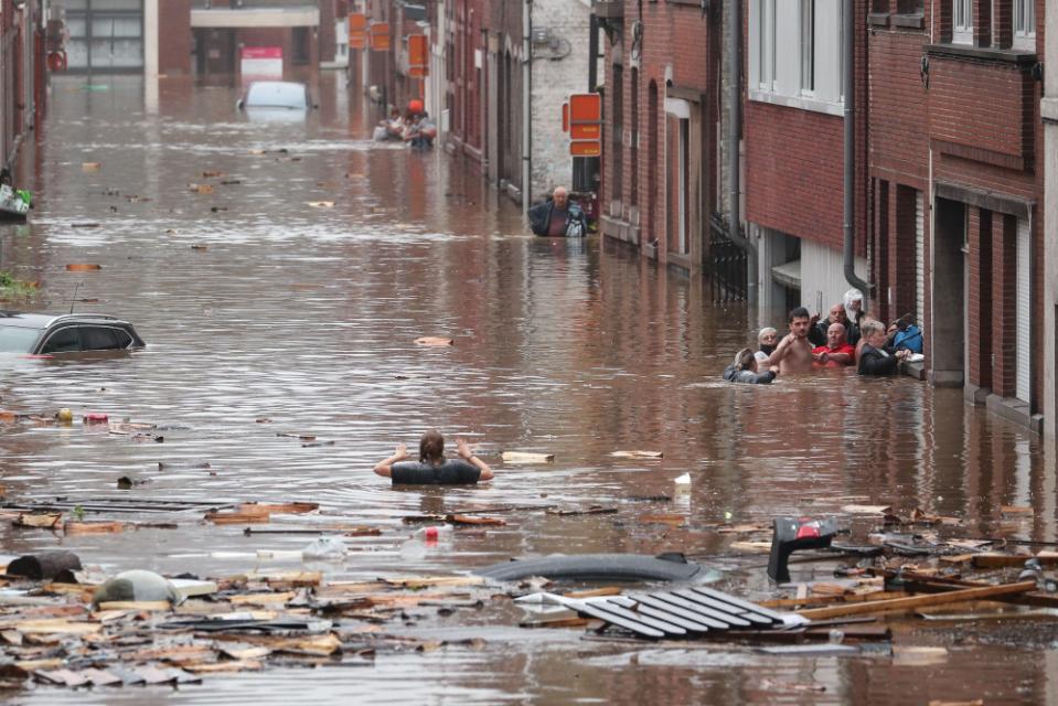 德国及西欧惊现百年未遇之特大洪水_图1-2