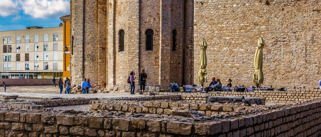 克罗地亚扎达尔(Zadar),城市素描_图1-4