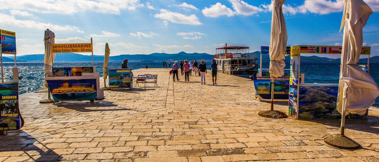 克罗地亚扎达尔(Zadar),城市素描_图1-5