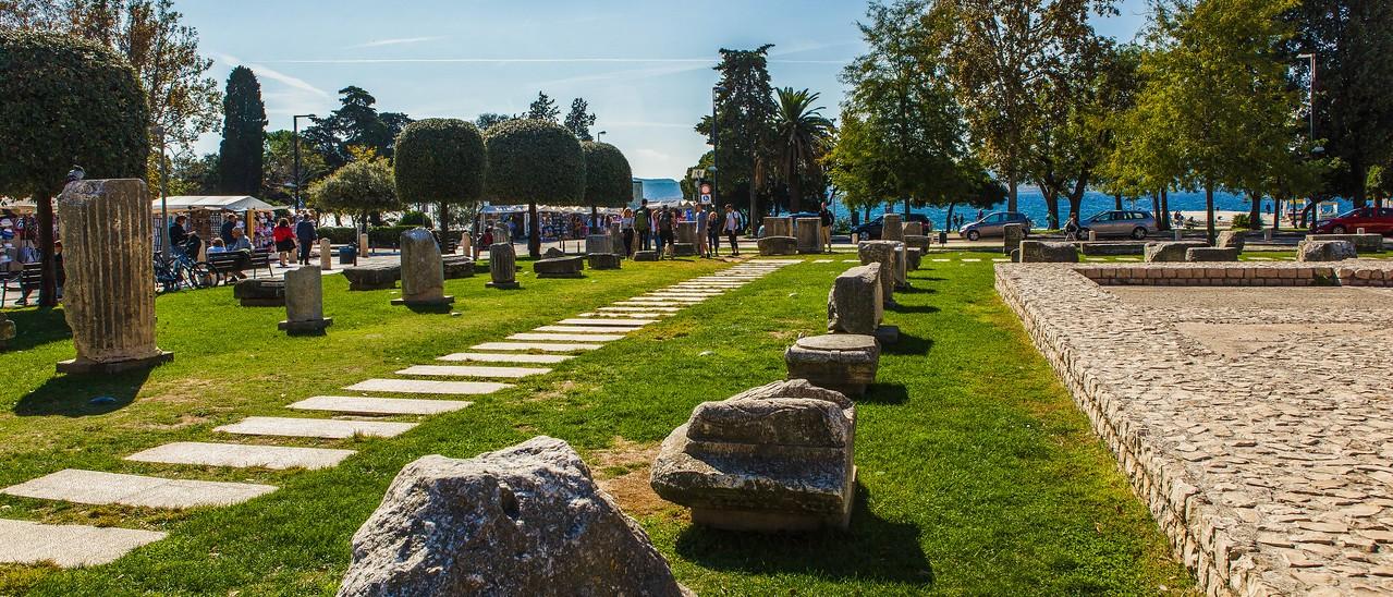 克罗地亚扎达尔(Zadar),城市素描_图1-3
