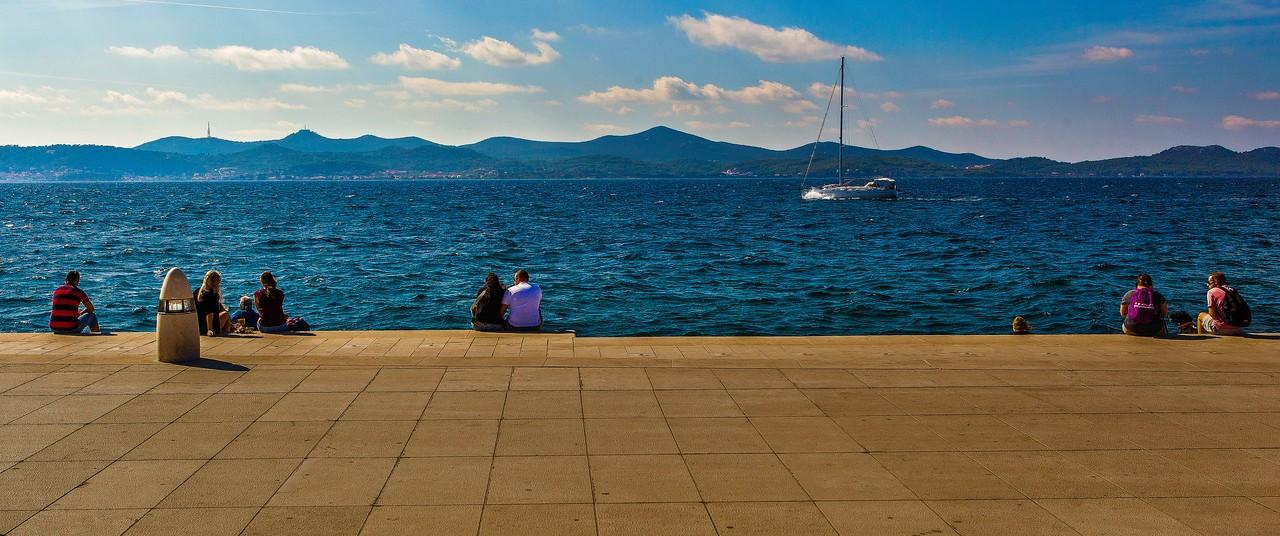 克罗地亚扎达尔(Zadar),城市素描_图1-14