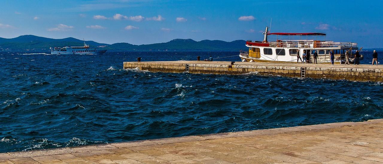 克罗地亚扎达尔(Zadar),城市素描_图1-13