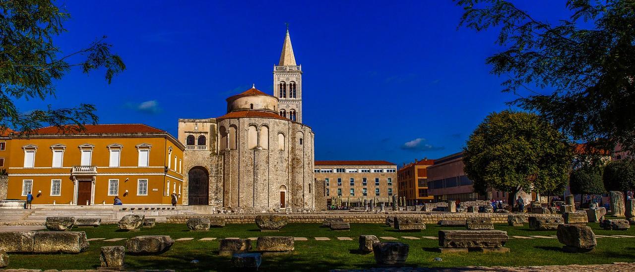 克罗地亚扎达尔(Zadar),城市素描_图1-15