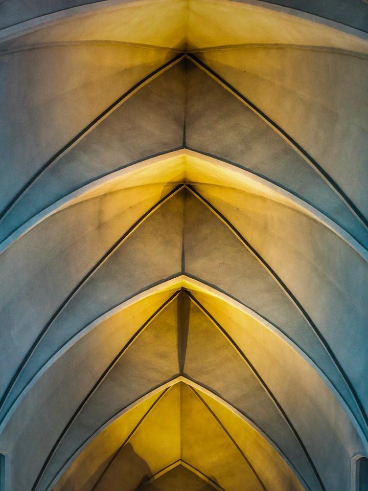 冰岛Hallgrimskirkja教堂,城市一景_图1-3