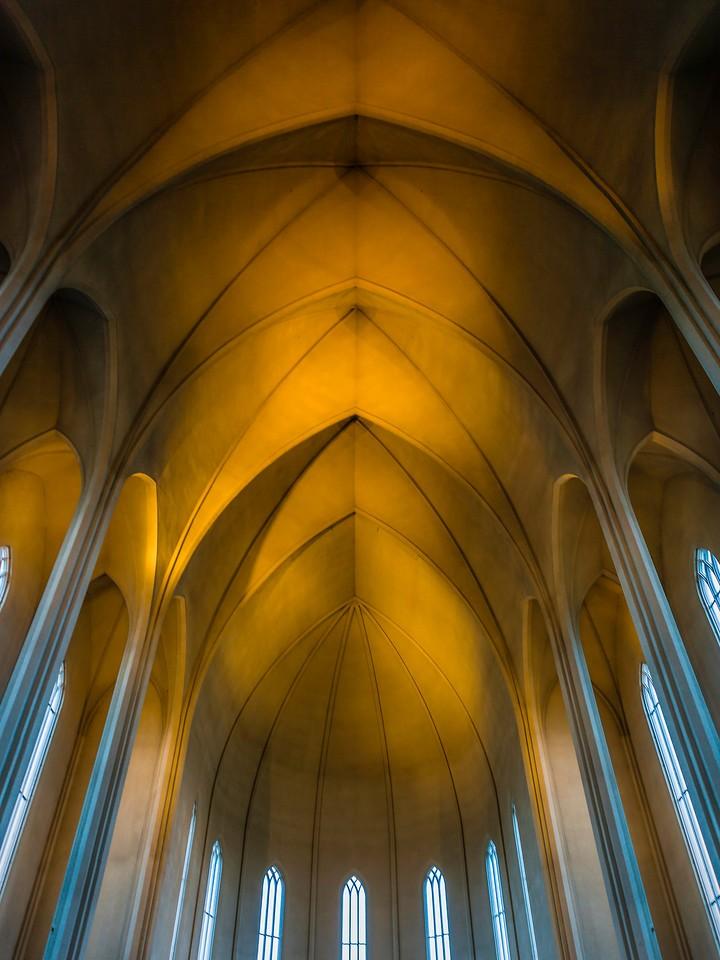 冰岛Hallgrimskirkja教堂,城市一景_图1-5