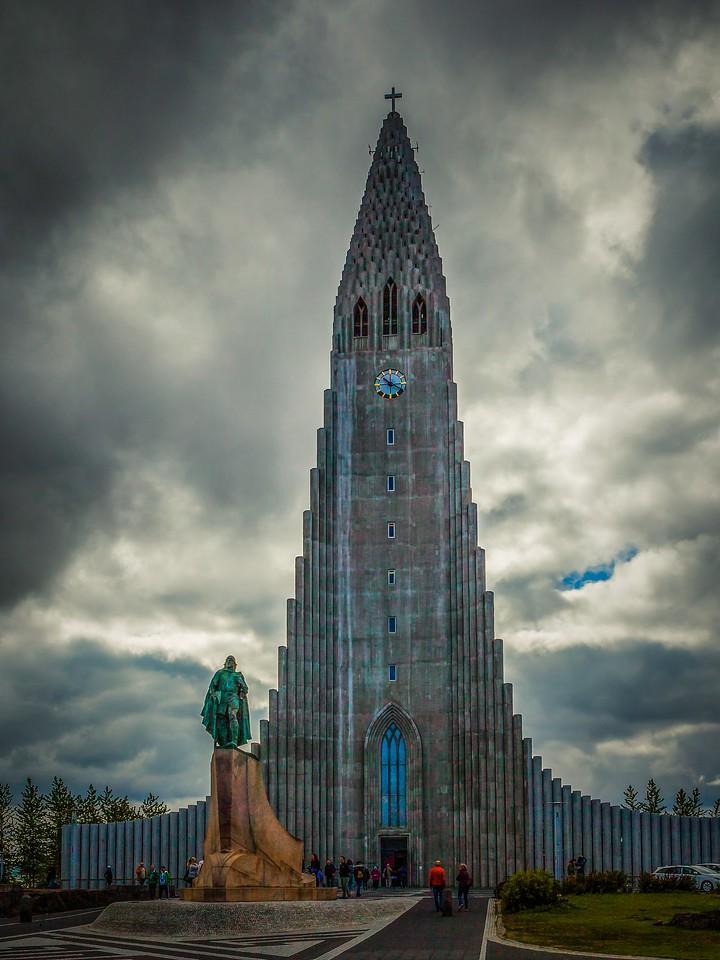冰岛Hallgrimskirkja教堂,城市一景_图1-4