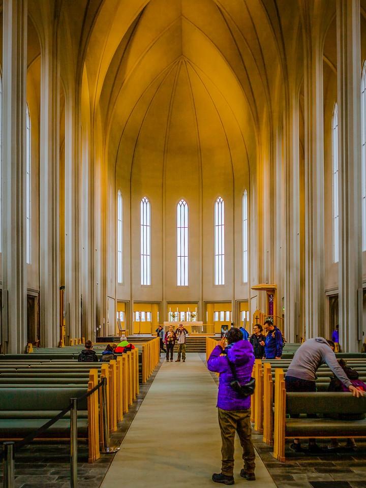 冰岛Hallgrimskirkja教堂,城市一景_图1-13
