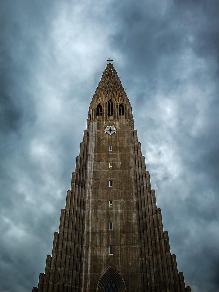 冰岛Hallgrimskirkja教堂,城市一景_图1-6