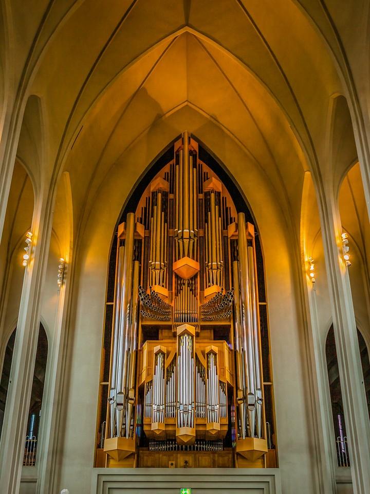 冰岛Hallgrimskirkja教堂,城市一景_图1-8