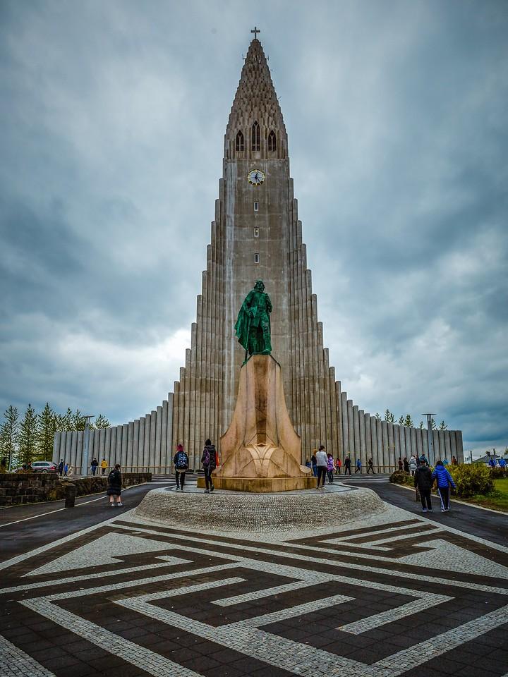 冰岛Hallgrimskirkja教堂,城市一景_图1-9