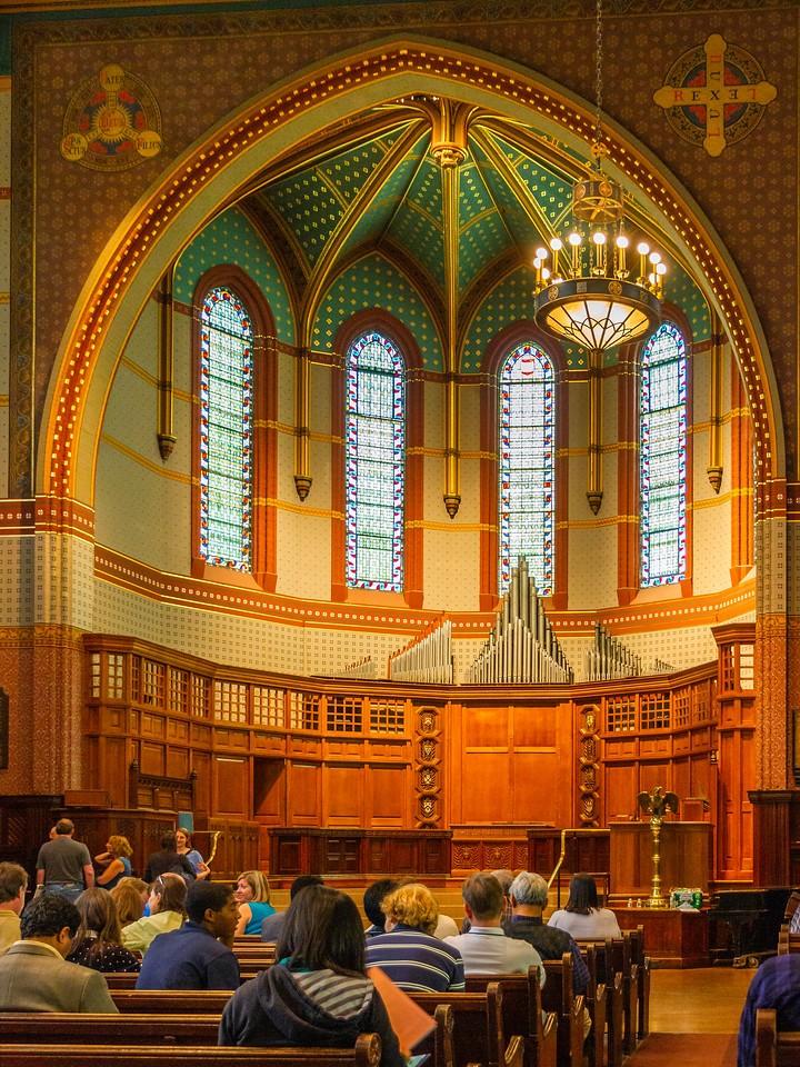 美国耶鲁大学,精致的校室_图1-16
