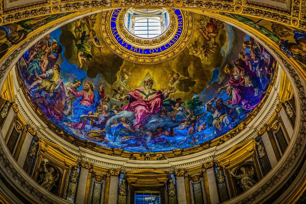 梵蒂冈圣彼得大教堂,艺术荟萃_图1-7