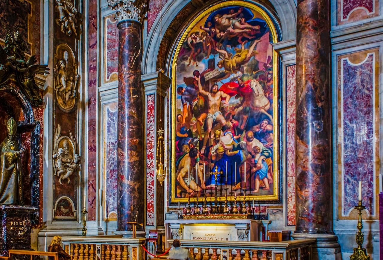 梵蒂冈圣彼得大教堂,艺术荟萃_图1-9
