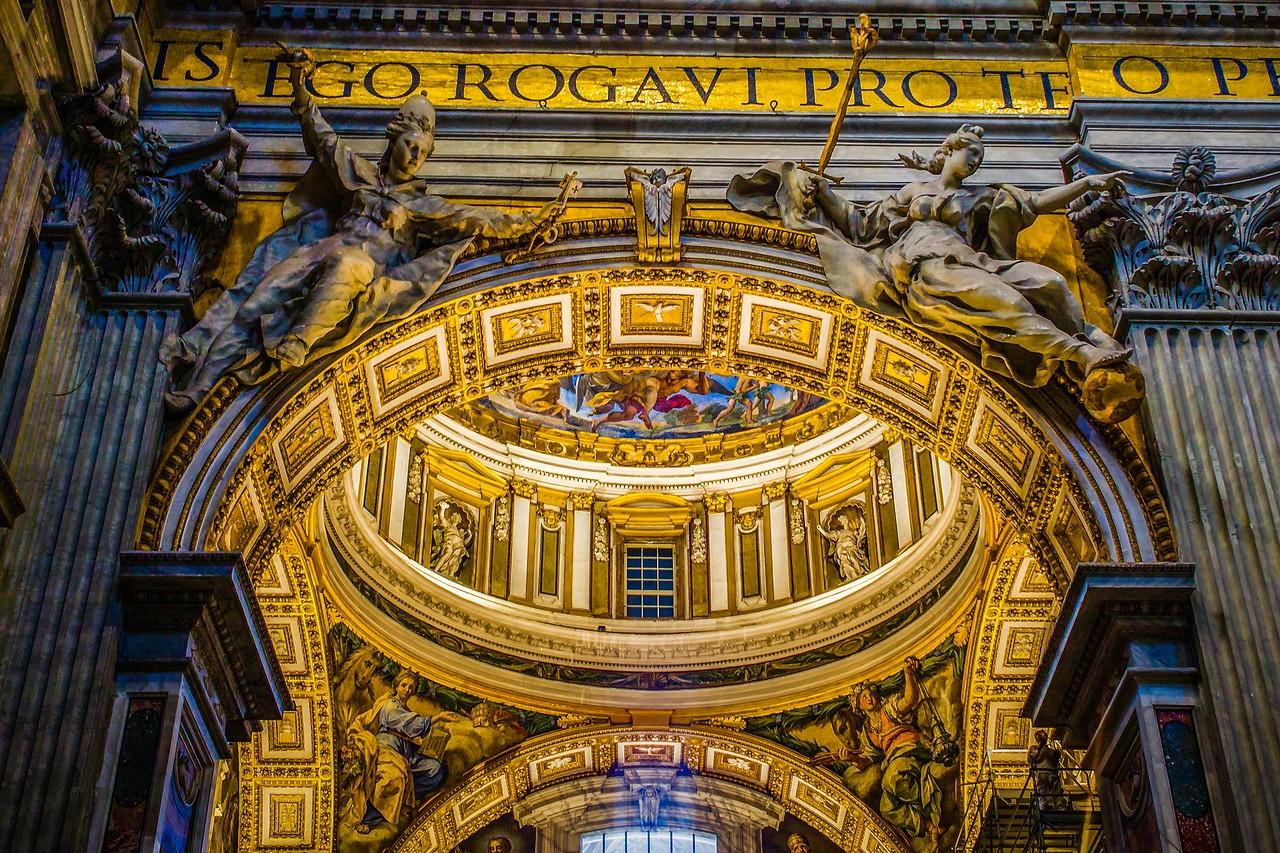 梵蒂冈圣彼得大教堂,艺术荟萃_图1-15