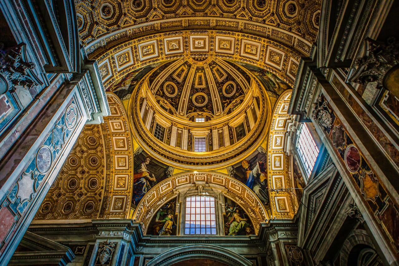梵蒂冈圣彼得大教堂,艺术荟萃_图1-11