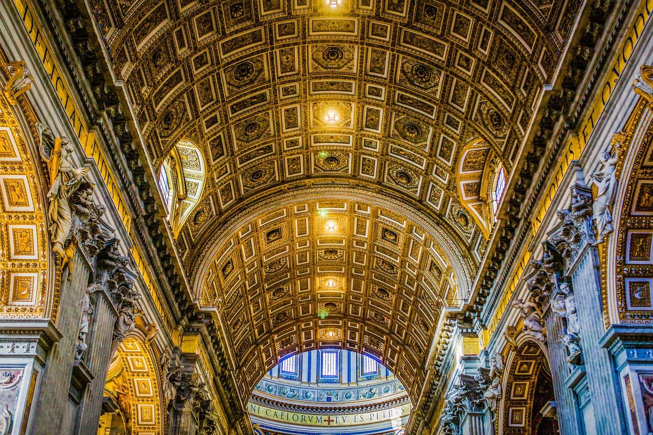 梵蒂冈圣彼得大教堂,艺术荟萃_图1-16