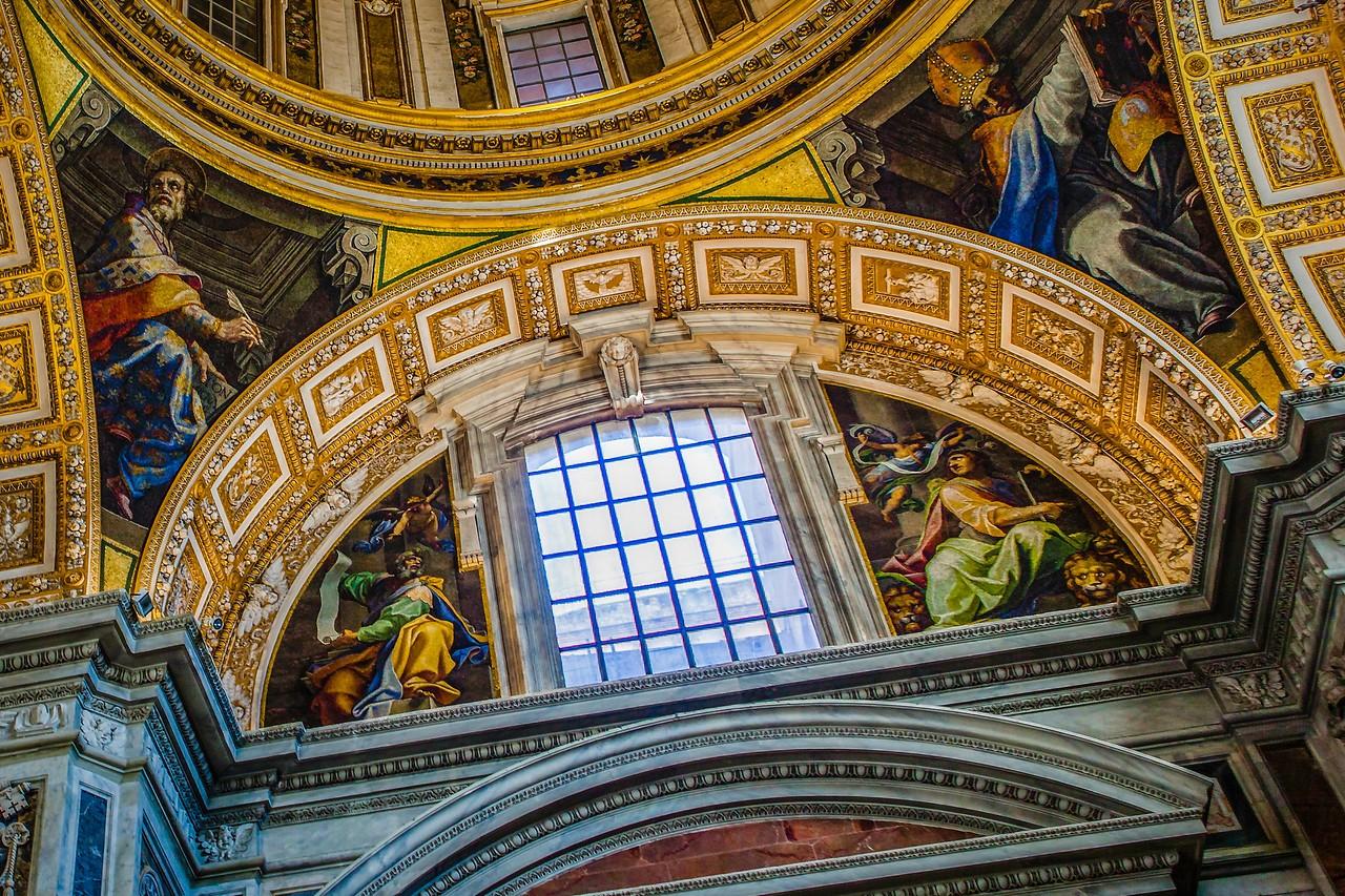 梵蒂冈圣彼得大教堂,艺术荟萃_图1-14