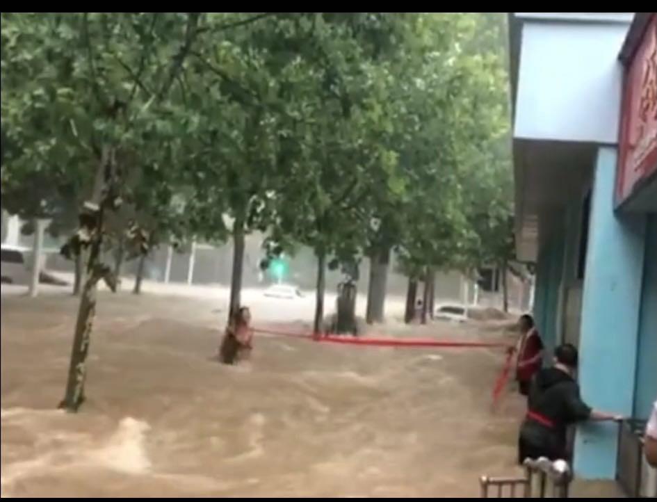 河南暴雨和德国洪水的反思!(笨小孩的世界之四十七。)_图1-2