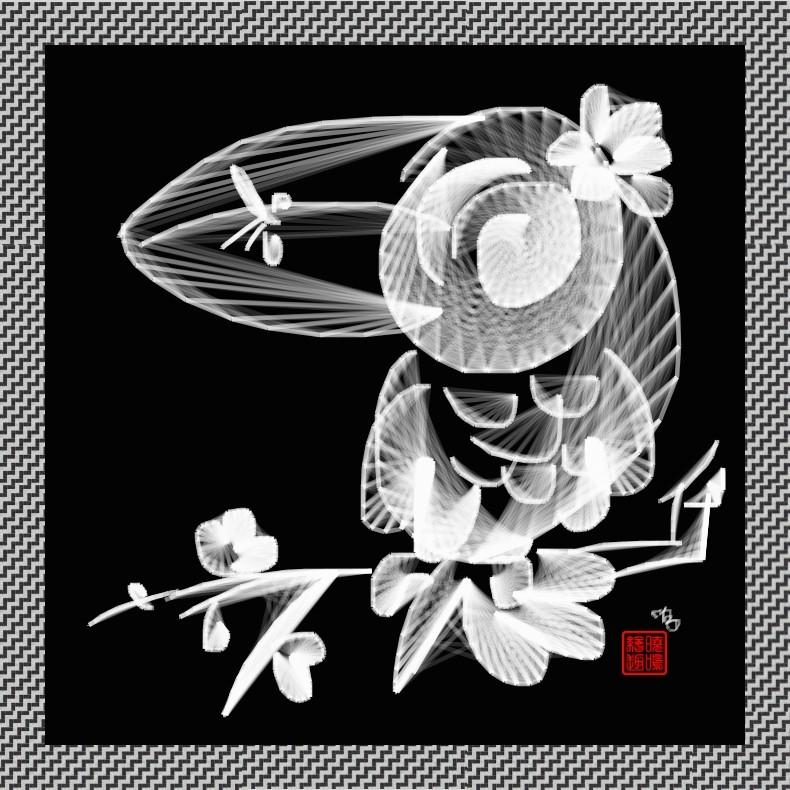 【写意花鸟】鸟蚊哈_图1-1