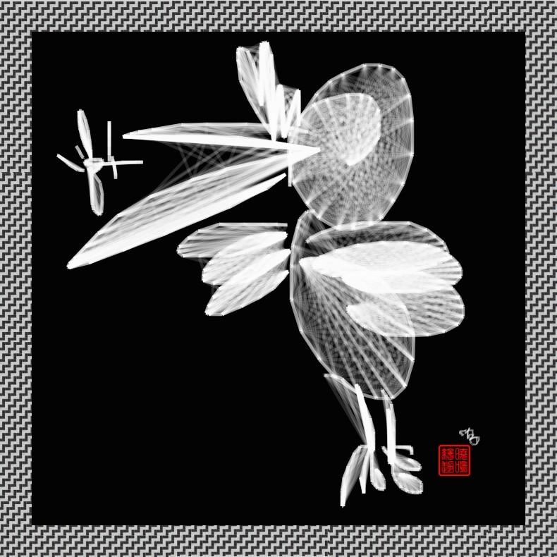 【写意花鸟】鸟蚊哈_图1-2