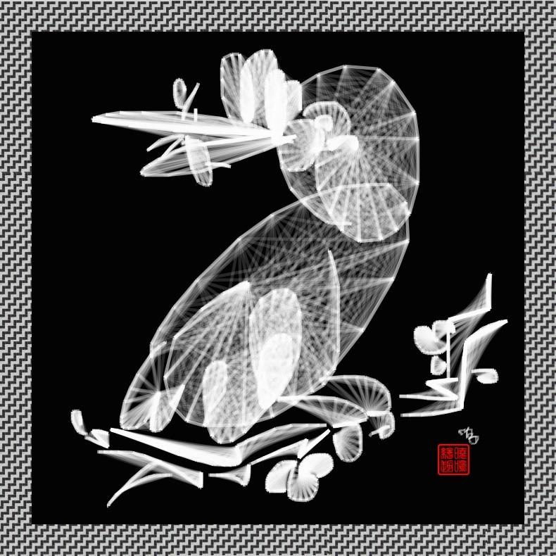 【写意花鸟】鸟蚊哈_图1-5