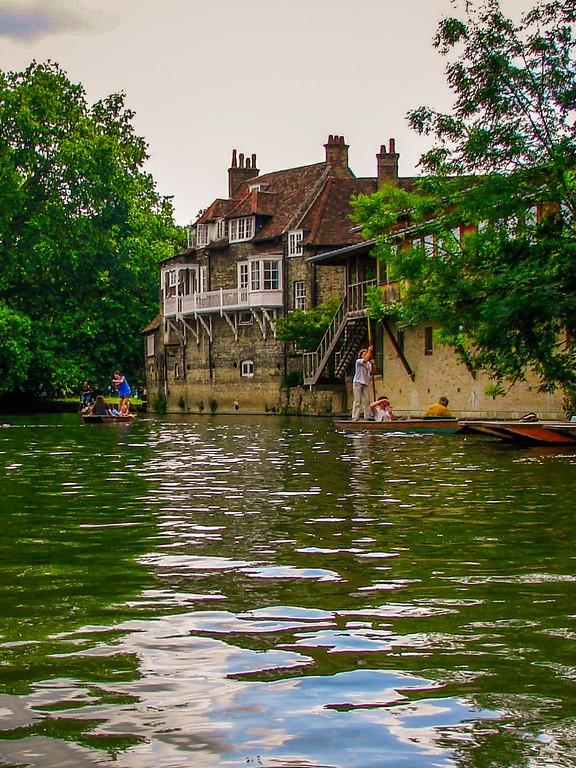 英国剑桥大学,名校风景_图1-9