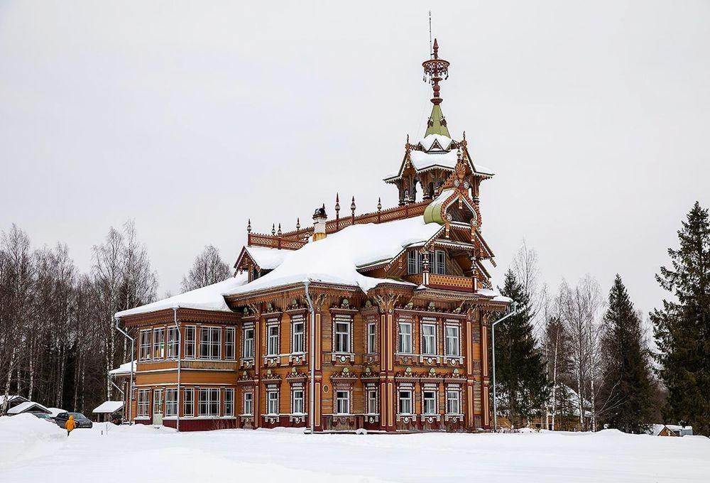 白雪皑皑的阿斯塔绍沃建筑_图1-3