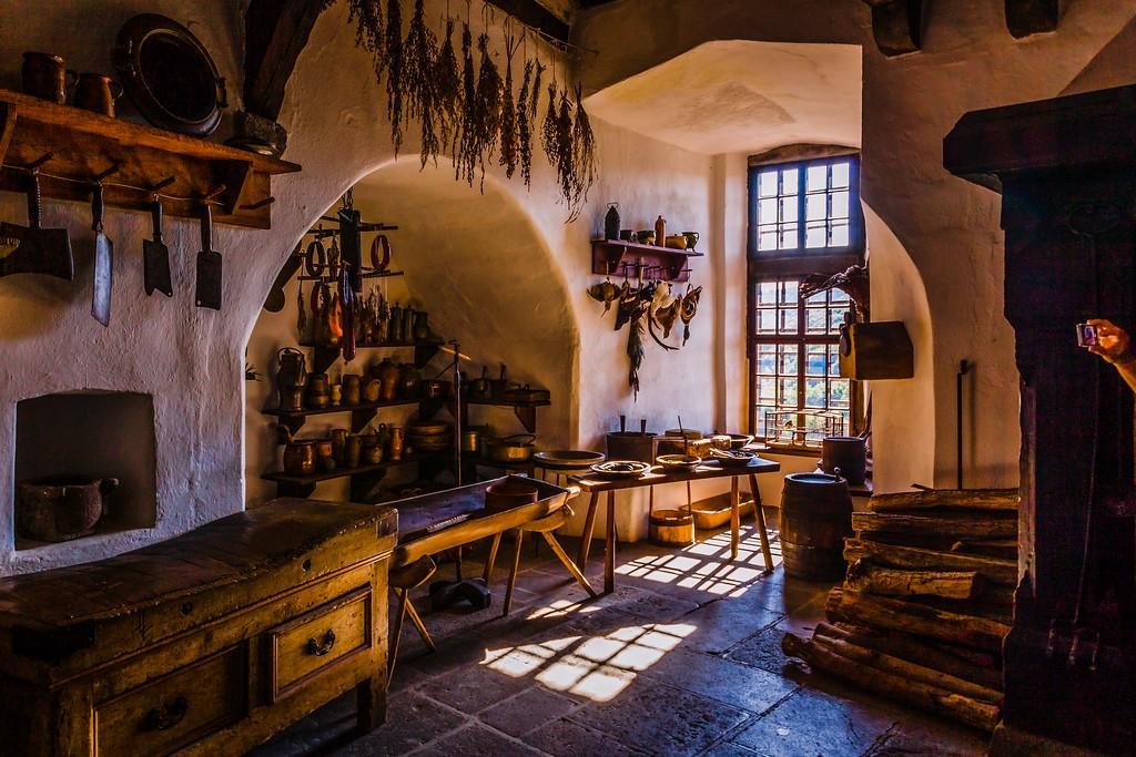 德国马克思城堡(Marksburg castle),昔日生活_图1-12