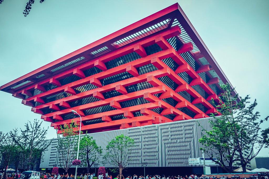上海世博会(2010),建筑奇观_图1-2