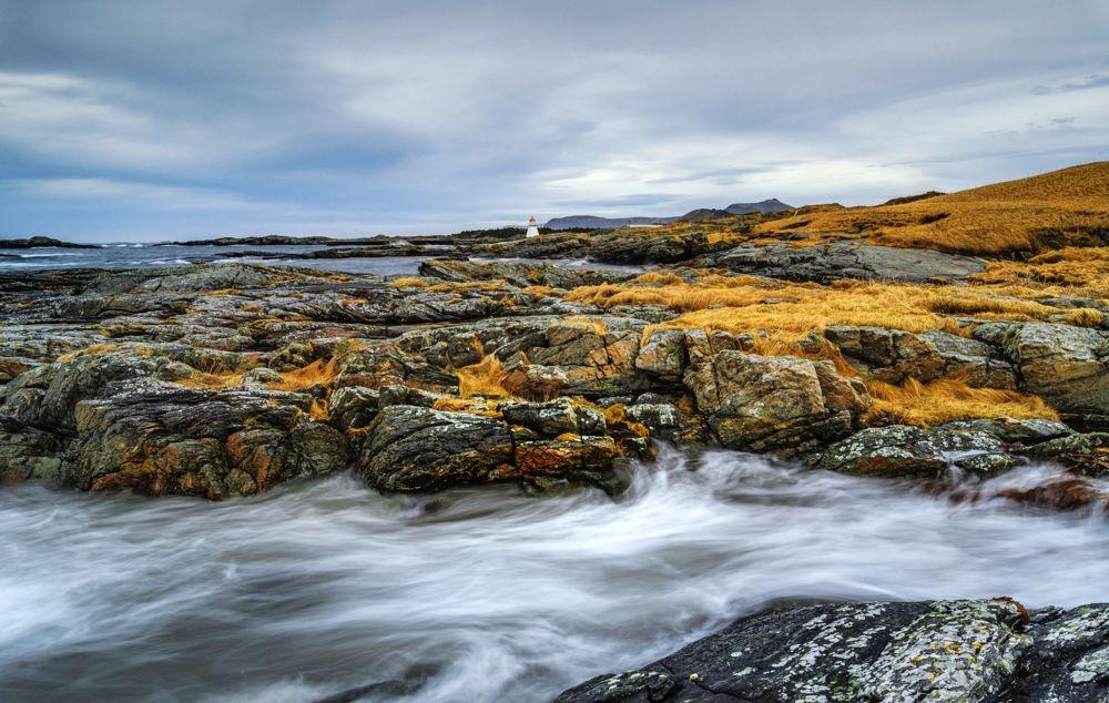 挪威罗弗敦群岛海岸线_图1-8