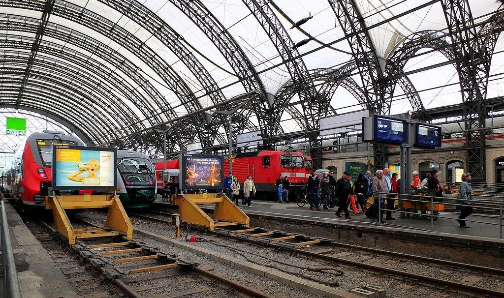 德累斯顿-茨温格宫与中央火车站_图1-31