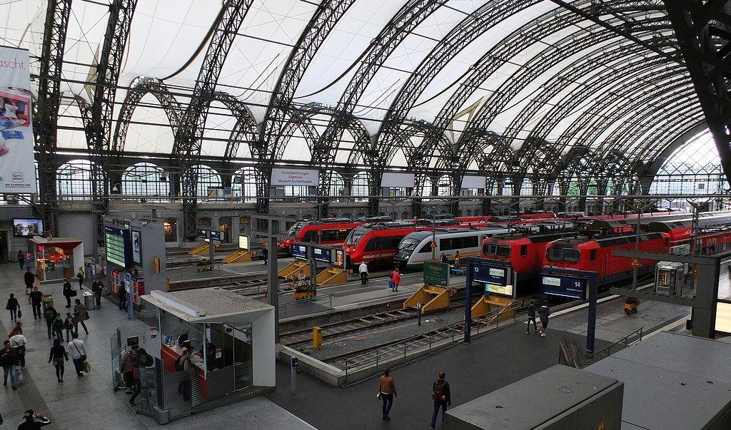 德累斯顿-茨温格宫与中央火车站_图1-33