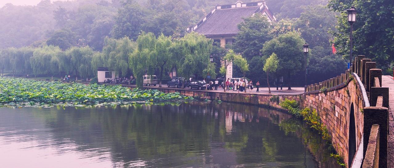 杭州西湖,秀丽湖色_图1-11