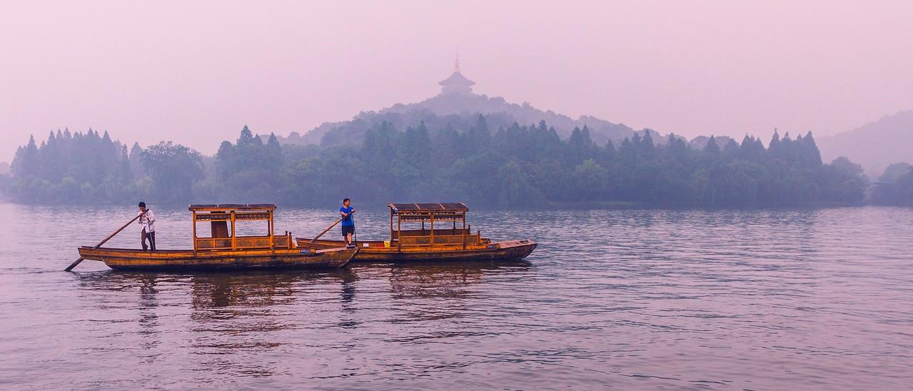 杭州西湖,秀丽湖色_图1-6