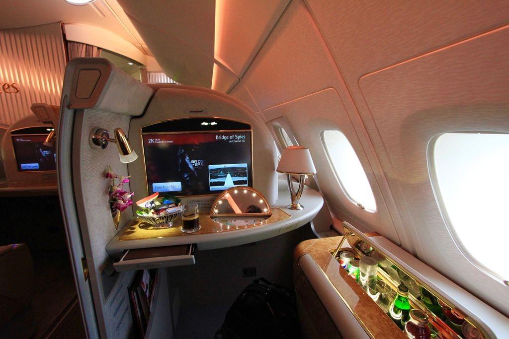 积奇从迪拜飞往悉尼航班头等舱的经历_图1-1