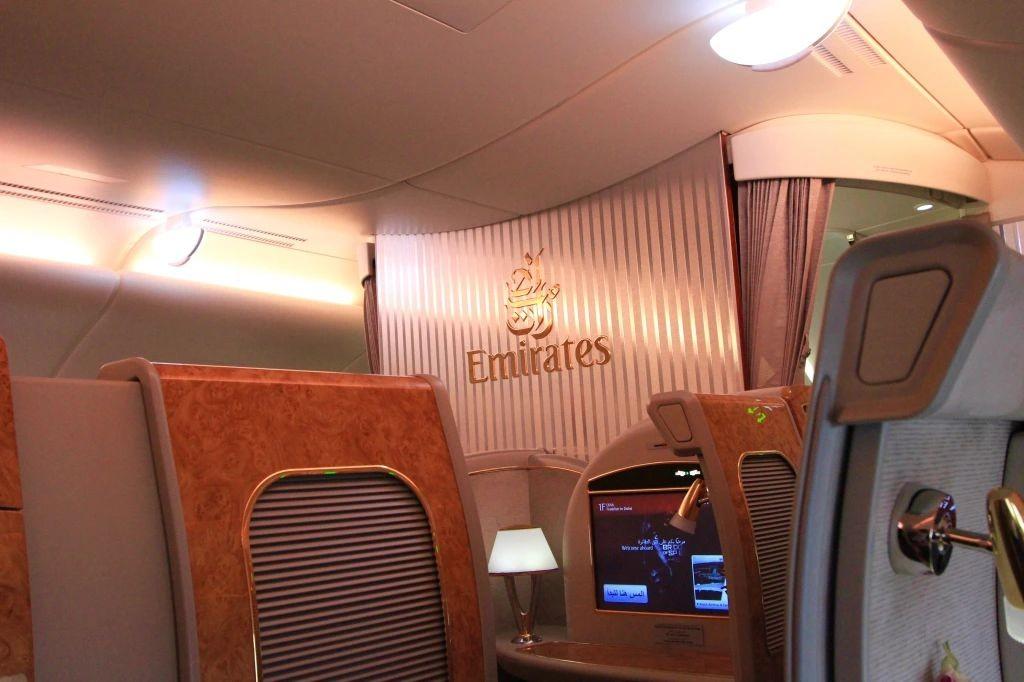 积奇从迪拜飞往悉尼航班头等舱的经历_图1-5