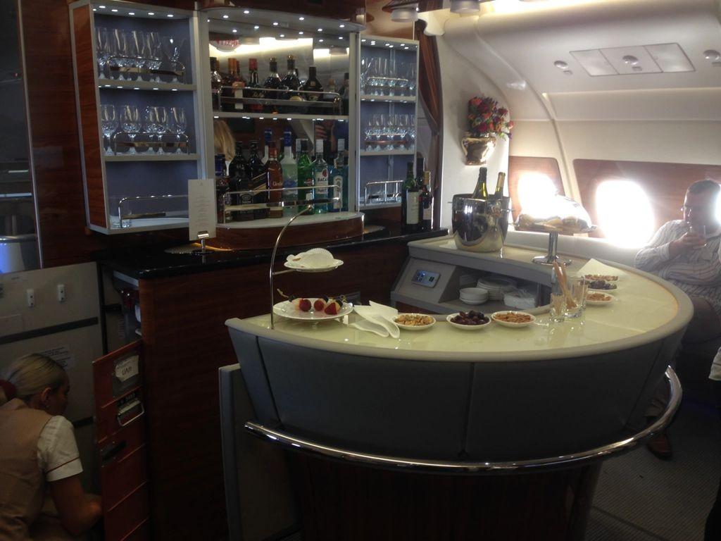 积奇从迪拜飞往悉尼航班头等舱的经历_图1-6