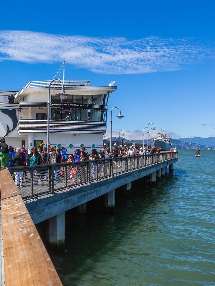 美国旧金山,游渔人码头_图1-10