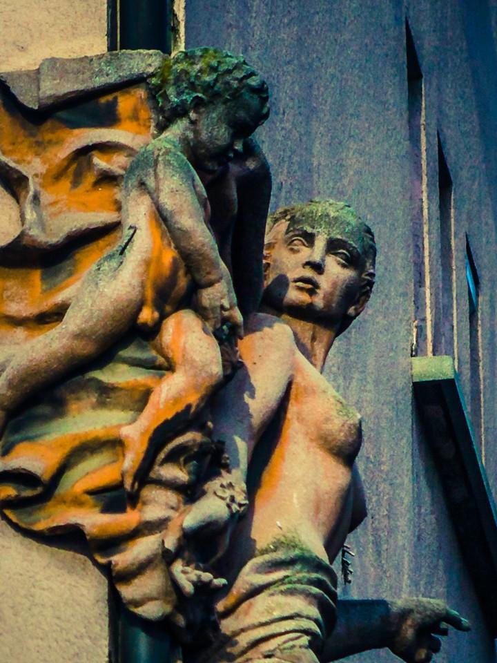 斯洛文尼亚首都卢布尔雅那(Ljubljana),雕塑景观_图1-18