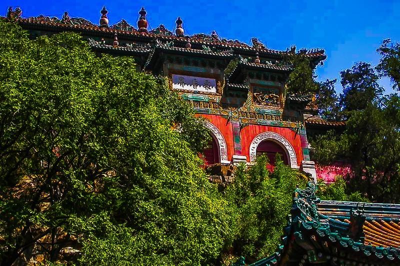 中国北京,古城风貌_图1-2