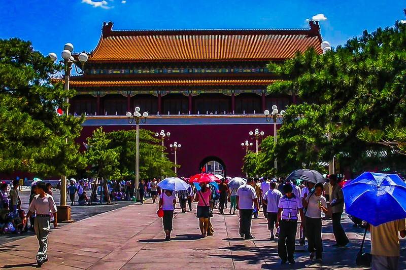 中国北京,古城风貌_图1-5