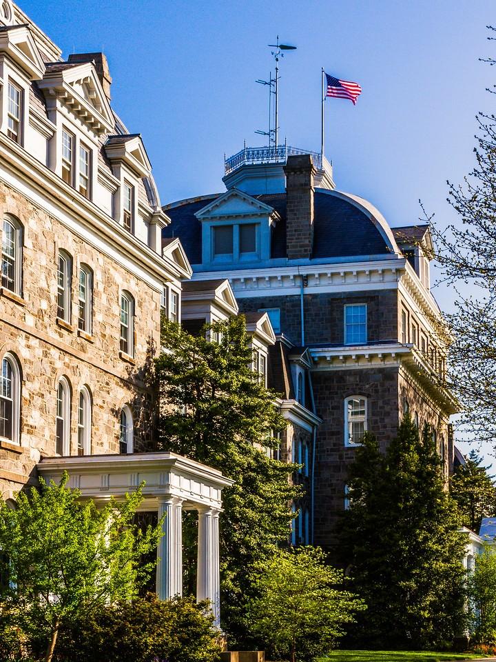 滨州斯沃斯莫尔学院(Swarthmore College),校园小花园_图1-8