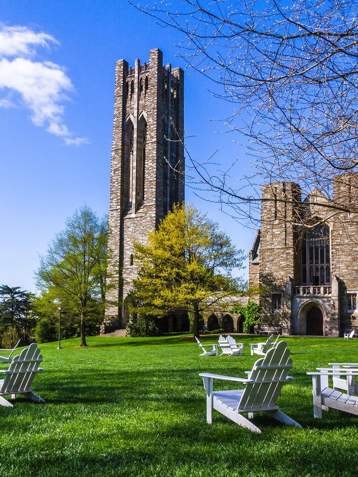 滨州斯沃斯莫尔学院(Swarthmore College),校园小花园_图1-5