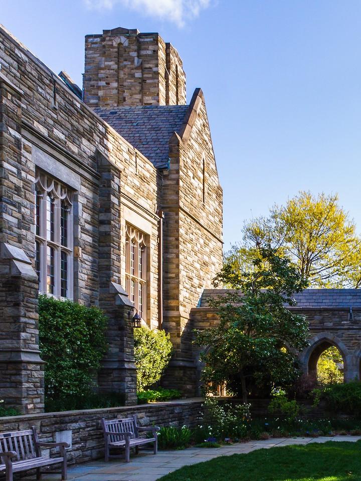 滨州斯沃斯莫尔学院(Swarthmore College),校园小花园_图1-4